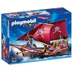 Конструктор Playmobil Пираты: Солдатский патрульный корабль
