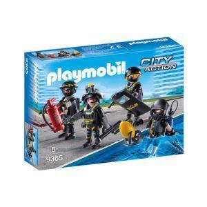 Конструктор Playmobil Полиция: Тактическое подразделение: команда