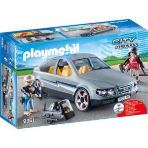 Конструктор Playmobil Полиция «Тактическое подразделение: машина под прикрытием» (арт. 9361)