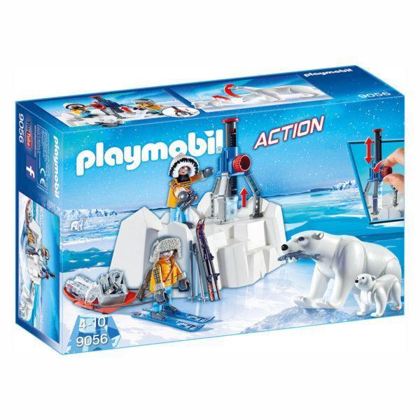 Конструктор Playmobil «Полярная экспедиция: Исследователи Арктики с полярными медведями» (арт. 9056)
