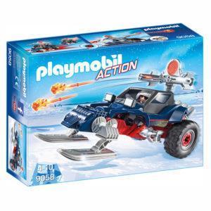 Конструктор Playmobil «Полярная экспедиция: Ледяной пират со снегоходом» (арт. 9058)
