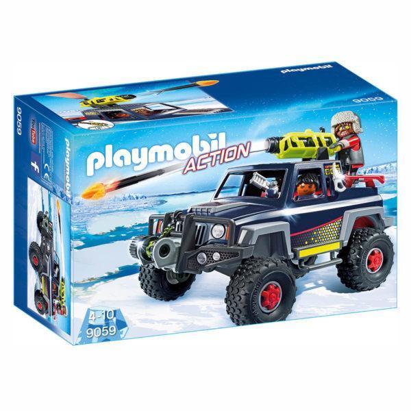 Конструктор Playmobil «Полярная экспедиция: Ледяной пират со снежным грузовиком» (арт. 9059)