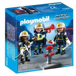 Конструктор Playmobil «Пожарная служба: Команда пожарников» (арт. 5366)
