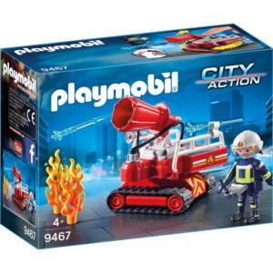 Конструктор Playmobil «Пожарная служба: Огненная водяная пушка» (арт. 9467)