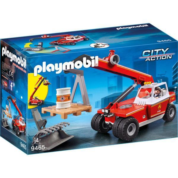Конструктор Playmobil «Пожарная служба: Пожарная машина-кран» (арт. 9465)