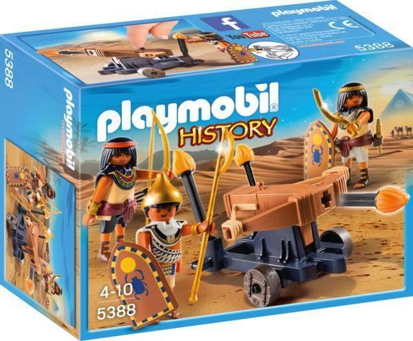 Конструктор Playmobil Римляне и Египтяне: Египетский солдат с Баллистой