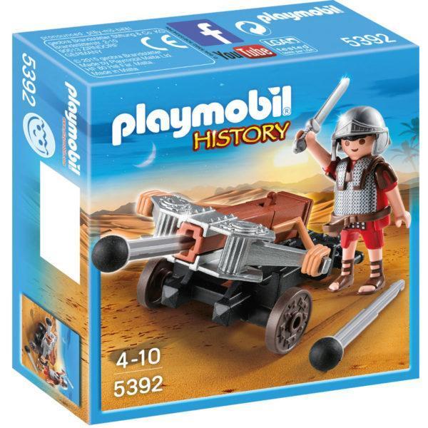 Конструктор Playmobil Римляне и Египтяне: Легионер с Баллистой