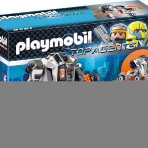Конструктор Playmobil Робот агента T.E.C. c функцией трансформера