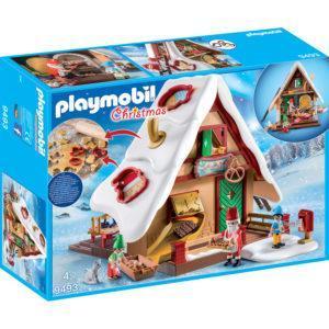Конструктор Playmobil Рождество: Рождественская пекарня с печеньем