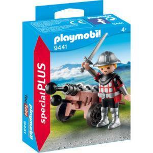 Конструктор Playmobil «Рыцарь с пушкой» (арт. 9441)