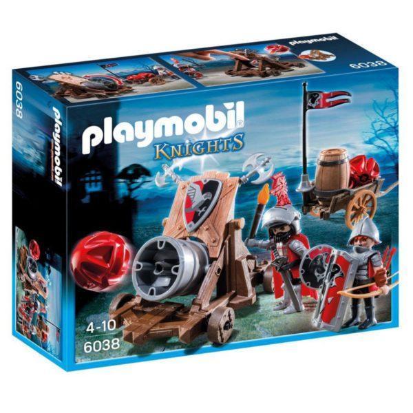 Конструктор Playmobil Рыцари: Боевая пушка Рыцарей Сокола