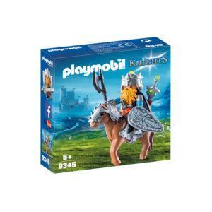Конструктор Playmobil «Рыцари: Боевой гном на коне»