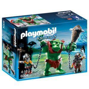 Конструктор Playmobil Рыцари: Гигантский тролль и боевые гномы