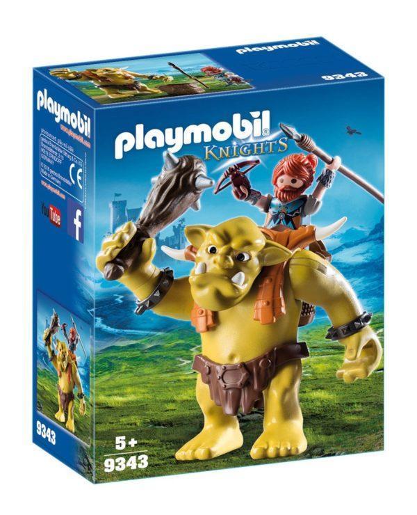 Конструктор Playmobil Рыцари: Гигантский тролль с боевым гномом