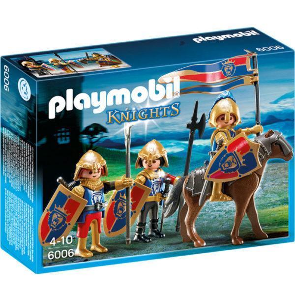 Конструктор Playmobil Рыцари: Королевские рыцари Львы
