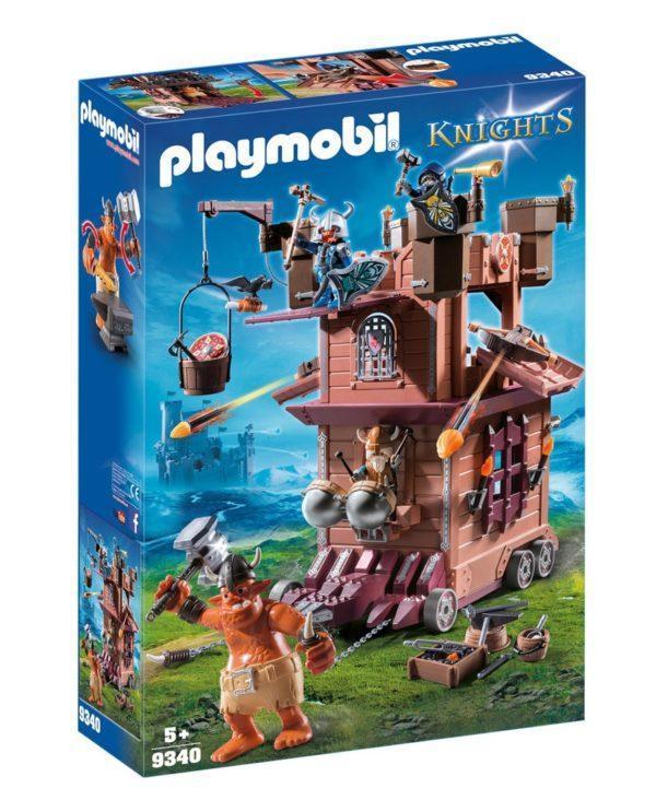 Конструктор Playmobil «Рыцари: Передвижная крепость гномов» (арт. 9340)