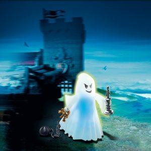 Конструктор Playmobil Рыцари: Призрак со светодиодной подсветкой