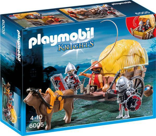 Конструктор Playmobil «Рыцари: Рыцари Сокола с камуфляжной повозкой» (арт. 6005)