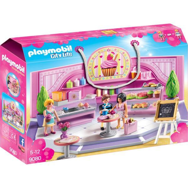 Конструктор Playmobil Шопинг: Кондитерский магазин