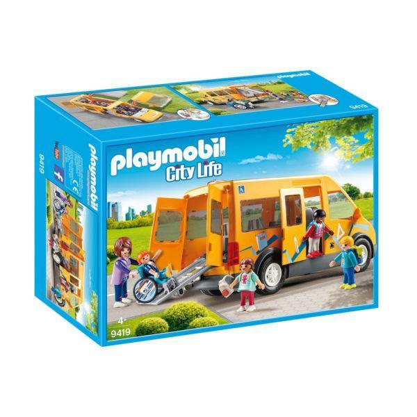 Конструктор Playmobil Снова в школу: Школьный Фургон