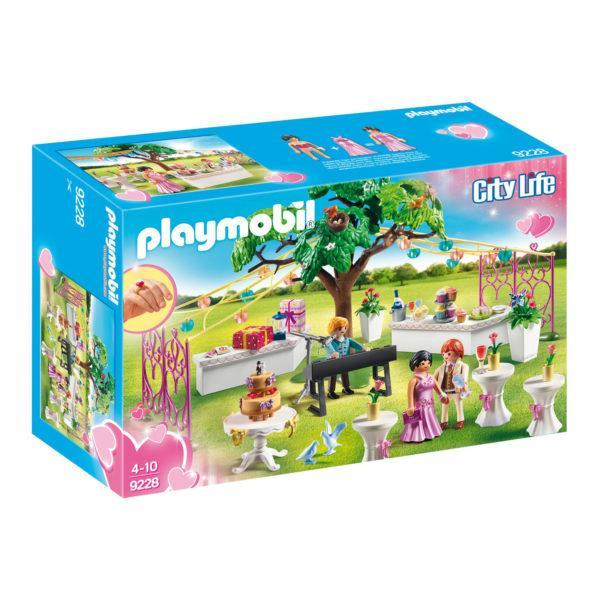 Конструктор Playmobil Стол для росписи новобрачных