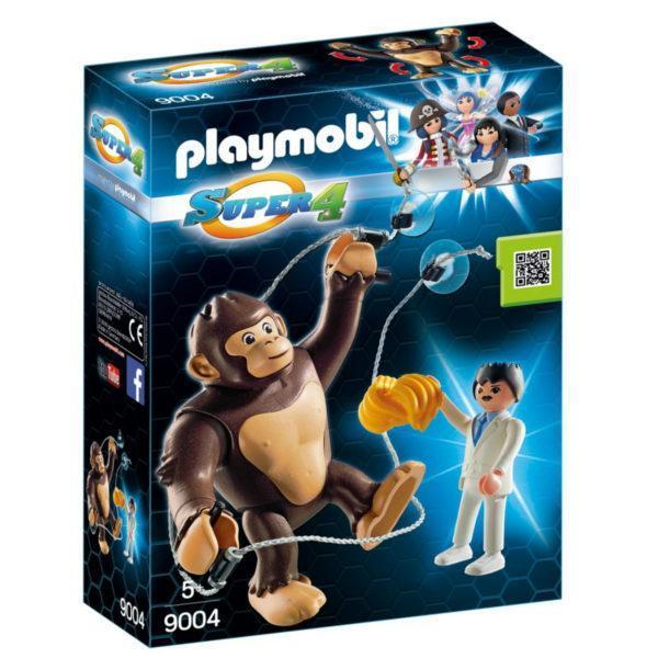 Конструктор Playmobil Супер4: Гигантский обезьяний гонг
