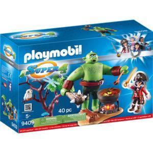 Конструктор Playmobil Супер4: Огр с Руби