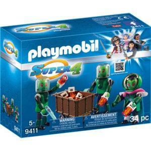 Конструктор Playmobil «Super4: Пришелец Сикрониан» (арт. 9411)