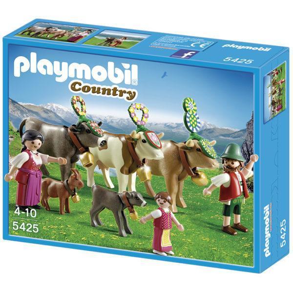 Конструктор Playmobil В горах: Альпийский фестиваль