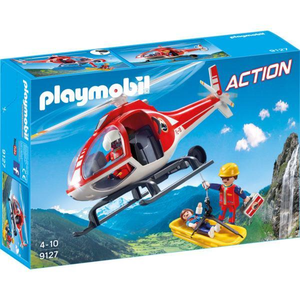 Конструктор Playmobil «Вертолёт горноспасателей» (арт. 9127)