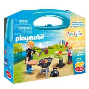 Конструктор Playmobil «Возьми с собой: Отдых с Барбекю» (арт. 5649)