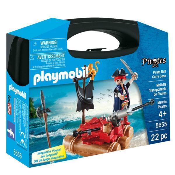 Конструктор Playmobil «Возьми с собой: Пиратский плот» (арт. 5655)