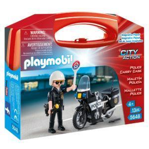 Конструктор Playmobil «Возьми с собой: Полиция» (арт. 5648)