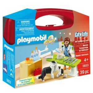Конструктор Playmobil Возьми с собой: Посещение ветеринарной клиники