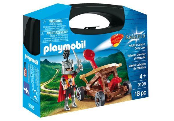 Конструктор Playmobil Возьми с собой: Рыцарь с катапультой