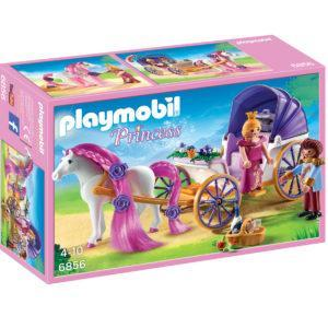 Конструктор Playmobil Замок Принцессы: Королевская чета с каретой