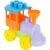 Конструктор Полесье для малышей «Паровоз с трубой» (9 деталей, арт. 55231)