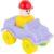 Конструктор Полесье Юный путешественник – Автомобиль легковой (9 элементов) (в пакете) на фиолетовой машине