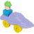 Конструктор Полесье Юный путешественник Катер, цвет: фиолетовый