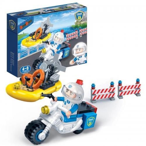Конструктор «Полицейский мотоцикл» (61 деталь)