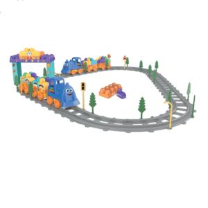 Конструктор «Путешествие поезда по железной дороге» (93 предмета, арт. Т6-074)