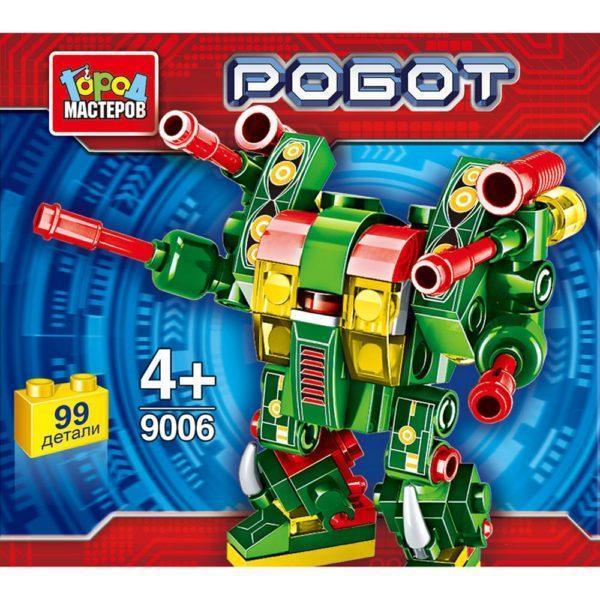 Конструктор - Робот, 99 деталей в банке