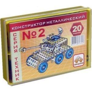 Конструктор Самоделкин K2 металлический