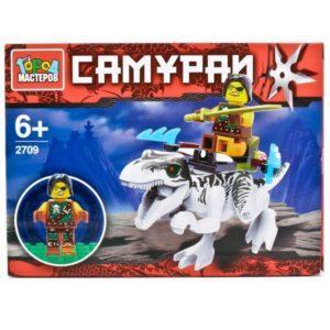 Конструктор «Самурай на динозавре» (39 деталей)
