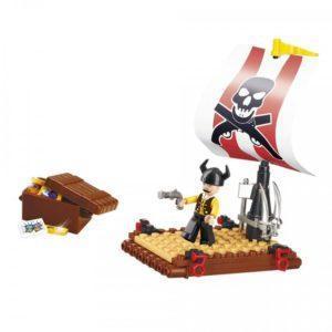 Конструктор Sluban Пираты Пиратский плот (64 дет.)