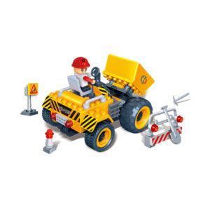 Конструктор «Строительная техника» жёлтый