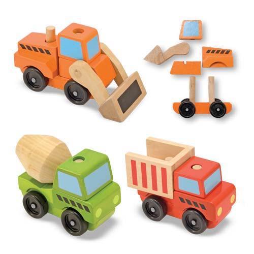 Конструктор - Строительный транспорт из серии Классические игрушки