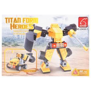 Конструктор «Титаны: Робот-трансформер»