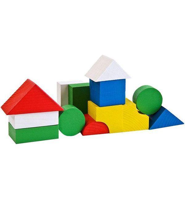 Конструктор Томик «Цветной» (14 элементов, арт. 6678-14)
