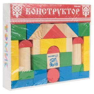 Конструктор Томик Цветной 43 детали
